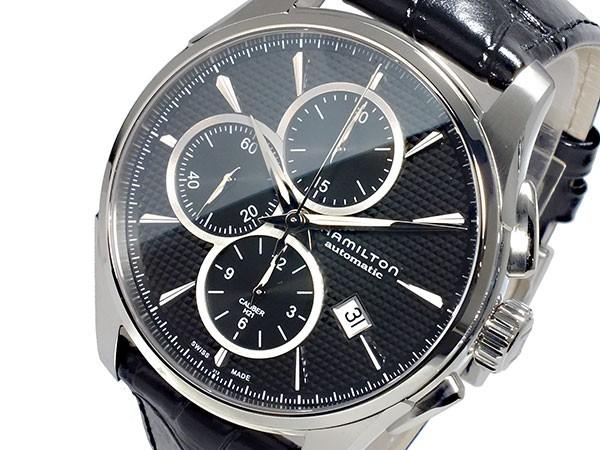 人気が高い  ハミルトン HAMILTON ジャズマスター JAZZMASTER 自動巻き クロノグラフ メンズ 腕時計 H32596731, ユニベティ 578a5e8f