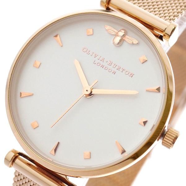 良質  オリビアバートン OLIVIA BURTON 腕時計 レディース OB16AM105 クオーツ ホワイト ピンクゴールド, 中之町商店会 8ca21b93