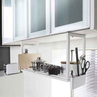 PLATE 戸棚下 収納シェルフ プレート ホワイト キッチン 吊り下げ式 収納 棚 ラック 3531 #13