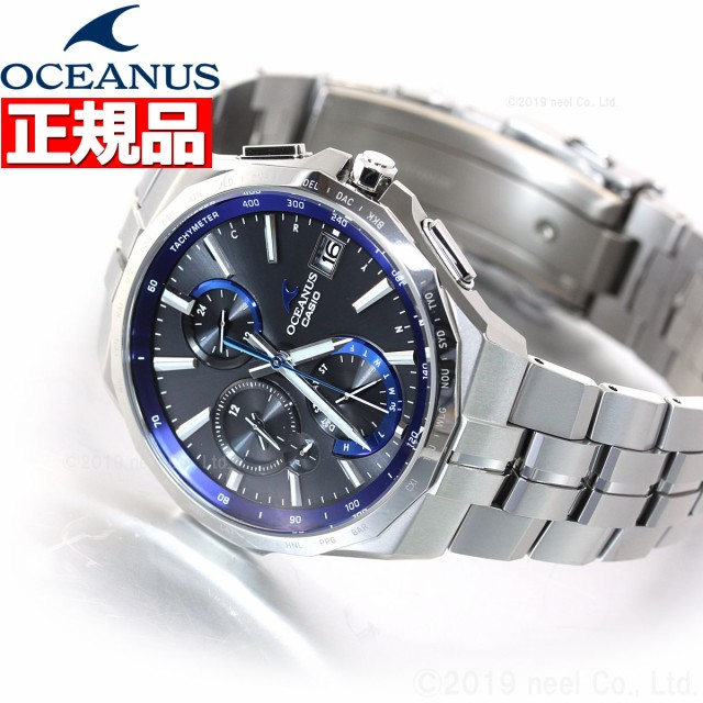 check out b0fbd be406 カシオ オシアナス マンタ 電波 ソーラー 腕時計 メンズ タフソーラー CASIO OCEANUS Manta Premium Production  Line OCW-S5000-1AJF