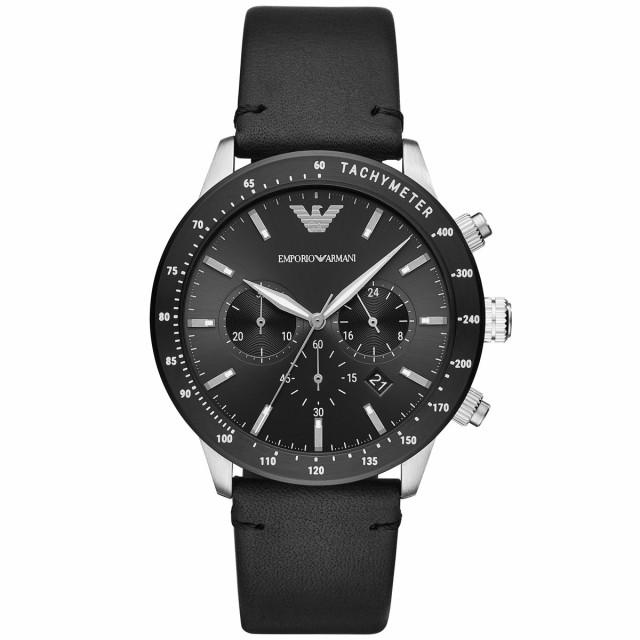 登場! 【最大1000円OFFクーポン配布中!14日9時59分まで】エンポリオアルマーニ AR11243 ARMANI EMPORIO メンズ 腕時計 クロノグラフ-腕時計メンズ