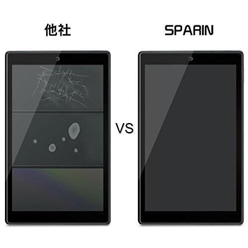 (2枚セット)Fire HD 10 フィルム SPARIN Fire HD 10界最高硬度9H/高透過率(Newモデル 2017)