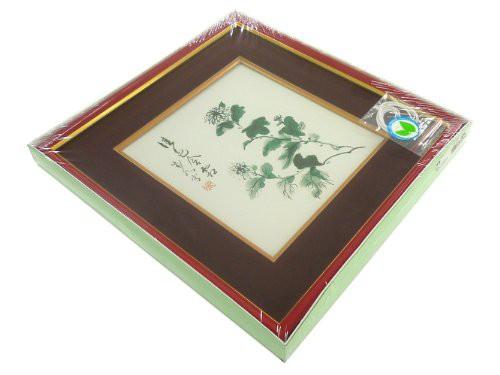 大仙 額縁 色紙額 春慶 上下箱シュリンクパック エンジ K141D9902