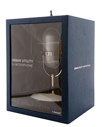 URBAN UTILITY DJマイク < Bluetooth 接続 / ハンズフリー> ワイヤレススピーカー ガイコツ UPMS-DJ1