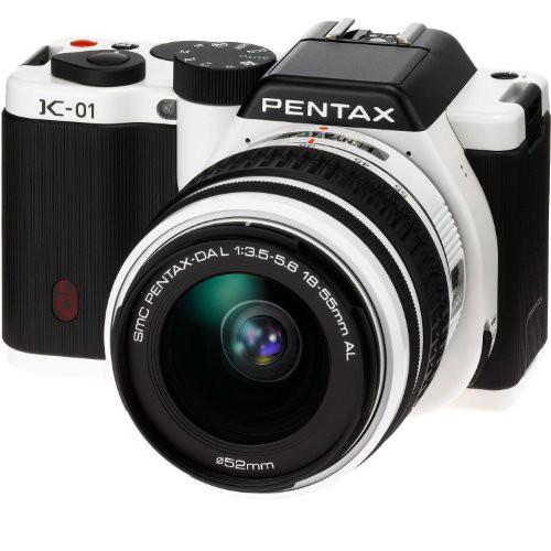 全国宅配無料 PENTAX デジタル一眼カメラ K-01 ボディ ホワイト/ブラック K-01BODY WH/BK(品), 栗東市 722435fc