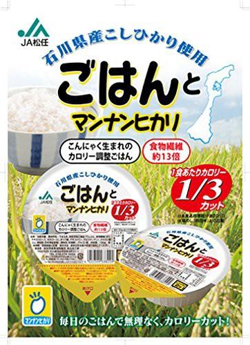 JA松任 ごはんとマンナンヒカリ 150g×12個