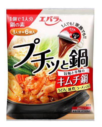 エバラ プチッと鍋 キムチ鍋 (23g×6個入)×3袋