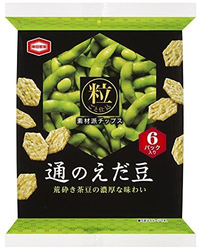 亀田製菓 通のえだ豆 76g×12袋