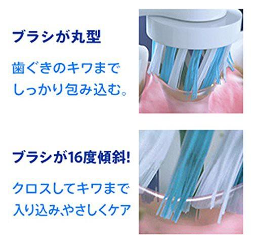 ブラウン オーラルB 電動歯ブラシ PRO1000 D205132MX BK ブラック