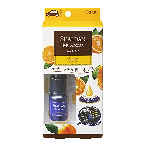 シャルダン SHALDAN 消臭芳香剤 車用 クリップタイプ My Aroma for Car オレンジ 5ml