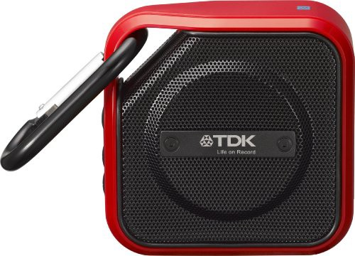 TDK Life on Record  Bluetoothワイヤレスポータブルスピーカー 防塵・防滴(IP64相当)レッド A12RD