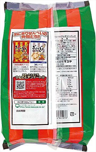 マスヤ おにぎりせんべいファミリーパック 16個×10袋