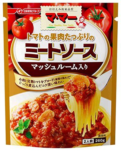 マ・マー トマトの果肉たっぷりのミートマッシュ 260g×6個