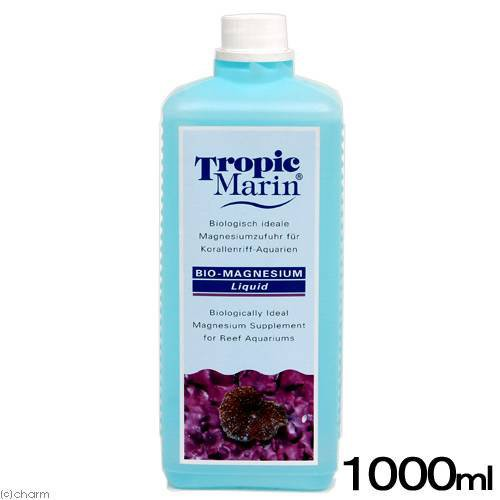 トロピックマリン BIO-MAGNESIUM バイオマグネシウム リキッド(液体タイプ) 1000mL 海水用添加剤