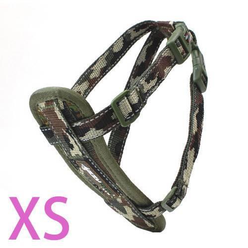 犬 胴輪 イージードッグ ハーネス XS (胴周り29~48cm) グリーンカモ 小型犬用