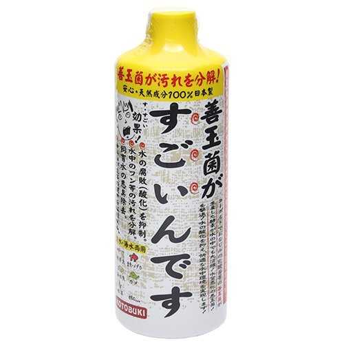 コトブキ工芸 kotobuki 善玉菌がすごいんです 500mL バクテリア 熱帯魚 観賞魚