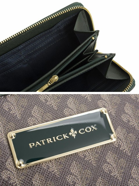 パトリックコックス 財布 長財布 ラウンドファスナー