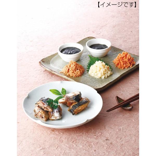お返し雅和膳 詰合せ詰め合せ セット さんま 煮魚 海苔の佃煮 さば 鮭フレーク/2206-70