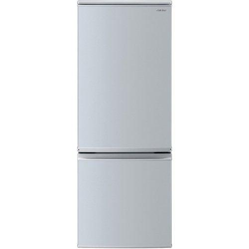 週間売れ筋 【無料長期保証】シャープ SJ-D17F-S 2ドア冷蔵庫 (167L・つけかえどっちもドア) シルバー系, 和柄アイテムshop 小都 fb0bae6f