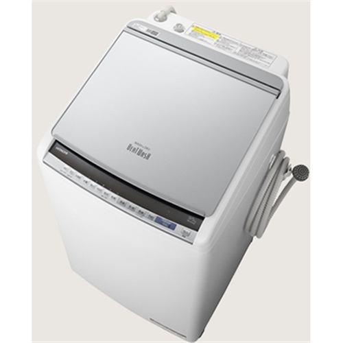 【絶品】 【無料長期保証】日立 BW-DV90E S 縦型洗濯乾燥機 (洗濯9.0kg /乾燥5.0kg) シルバー, ベッド専門店 ビーナスベッド 82aa6d55