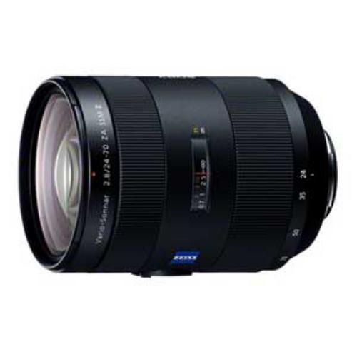 開店祝い Vario-Sonnar F2.8 ZA T*24-70mm SAL2470Z2 SSMII 交換用レンズ ソニー-カメラ