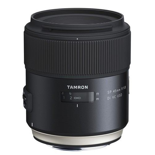 良質  交換用レンズ 45mm VC F1.8 USD(ソニー用) Di SP タムロン-カメラ