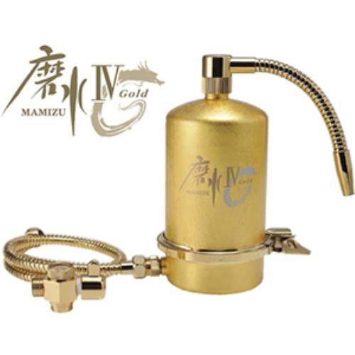 日本限定 ミズセイ J207P-G 家庭用浄水器 「磨水IV」24金箔ゴールド【受注生産品】, 格安ゴルフ 7eead2a0