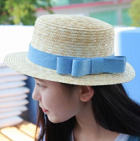 【即納】新品 帽子 麦わら帽子 キャップ トッパー 春夏 かんかん帽