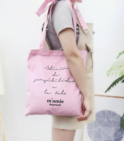 ハンドバッグ シンプル 可愛い カジュアル 全3色 リボン 肩掛けバッグ