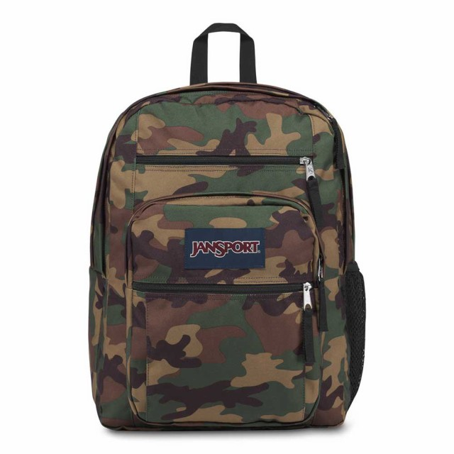 JanSport Big Student Backpack Surplus Camo Camouflage