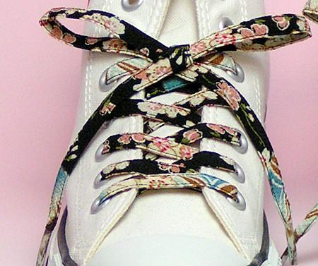 メール便 和柄靴ひも 柄多数ちりめん靴紐ロング おしゃれなメンズレディーススニーカーくつひも クツヒモ  日本製シューレース(色86L)の通販はWowma!