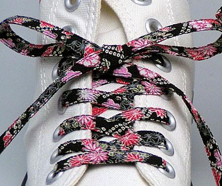 メール便 和柄靴ひも 柄多数ちりめん靴紐ノーマル おしゃれなメンズレディーススニーカーくつひも クツヒモ  日本製シューレース(色178)の通販はWowma!