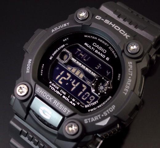 db987e7f2f CASIO/カシオ【G-SHOCK/Gショック】メンズ ソーラー電波腕時計 タイド ...