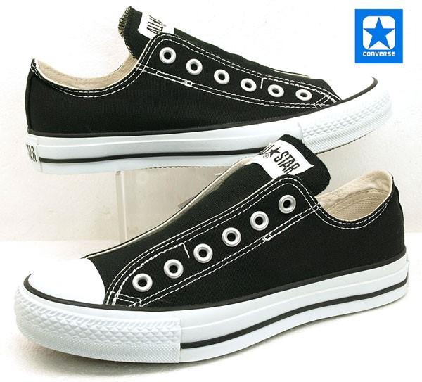 9dd7f292e5f9  送料無料 コンバース Converse ALL STAR SLIP 3 OX スリップ スニーカー 黒 オールスター 紐