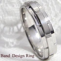【お気に入り】 バンドデザイン ホワイトゴールドK18 幅広 ピンキーリング 18金 結婚指輪 レディースリング ベルト, 須坂市 b1f61400
