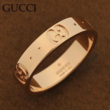【開店記念セール!】 指輪 GUCCI/152045-j8500 152045-J8500/5702 /import ピンクゴールド K18PG グッチ リング-指輪・リング