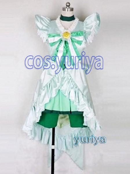 スマイルプリキュアキュアマーチ プリンセスフォームコスプレ衣装 の