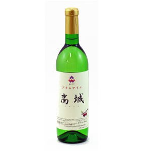 秋田天鷺ワイン(あまさぎワイン)プラムワイン 高城 720mL