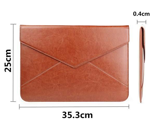 f97155de00 MacBook Air / Proケース13-13.3インチ レザー パソコンケース 防水 カバー 封筒型