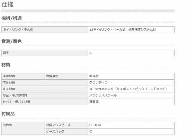 【チューナープレゼント対象商品】YAMAHA/カスタムクラリネット YCL-SE ArtistModel A (A管)【ヤマハ】