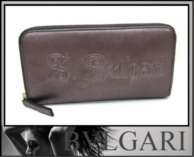 6444cda752a0 BVLGARI 30412 BULGARI BULGARI ブルガリ ブラック 長財布 レディース