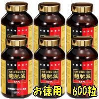 麹肥減DX 600粒( こうひげん ) 6個 第一薬品 商品の期限は2020年9月