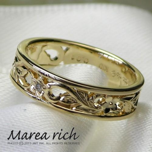 新発売の K10ゴールド ダイヤモンド ハワイアン rich リング ダイヤモンド 小森純さんプロデュースジュエリー!Marea rich マレアリッチ マレアリッチ プレゼント推奨品, SAARISERKA:9c3d6b02 --- widespread.zafh-spantec.de