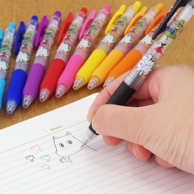 ボールペン サラサ × ムーミン 0.4mm/H018【学研ステイフル】メール便OK/北欧/SARASA/サラサクリップ