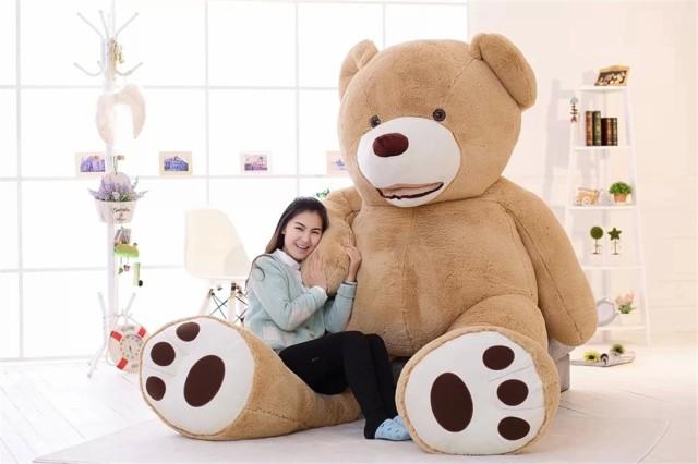 テディベア ぬいぐるみ 巨大 くま クマ 120cm 特大 抱き枕 可愛い クマ 縫い包み 誕生日 プレゼント クリスマス お祝い ふわふわ 熊