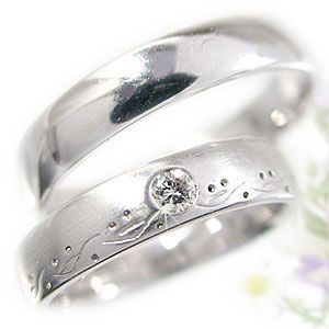 【翌日発送可能】 プラチナ ダイヤモンド 結婚指輪 ペアリング マリッジリング 結婚指輪 ペア ペアリング ダイヤ 2本セット Pt900 指輪 ダイヤ 0.08ct, ビワチョウ:c3d73d88 --- zafh-spantec.de
