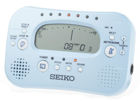 SEIKO/メトロノーム×チューナー STH100【セイコー】