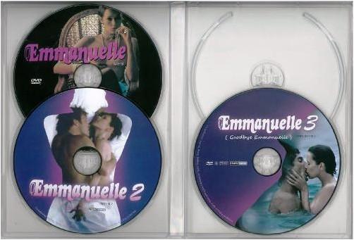 エマニエル夫人 3本セットDVD 【エマニエル3DVD】 (輸入盤)GR-0016 シルビア・クリステル 【DVD】
