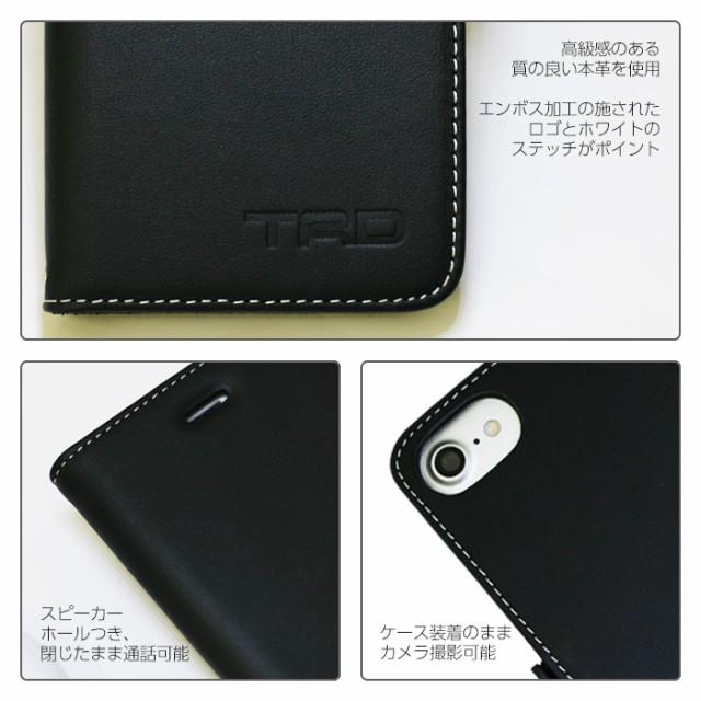 a2c36061d1 エアージェイ TRD 公式ライセンス品 iPhone7 6sケース 手帳型 アイフォン ...