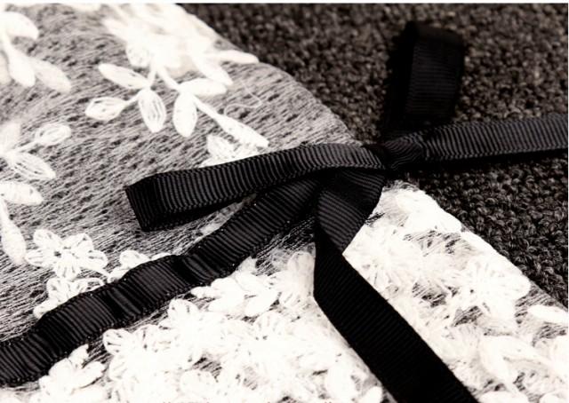 パーティードレス 結婚式 二次会 ワンピース お呼ばれ レディース ミニ丈 オフショルダー レース 大きいサイズ ブラック 黒 ホワイト 白